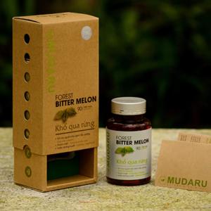 Viên Uống Khổ Qua Rừng Mudaru (bộ 3 hộp)
