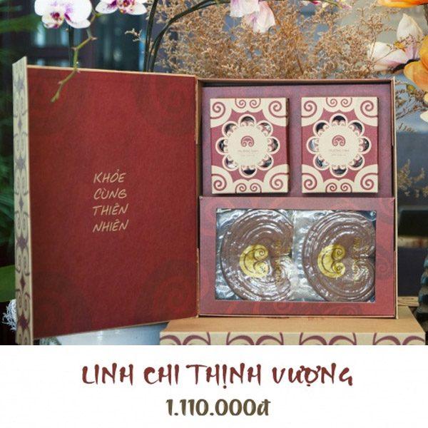 Hộp quà linh chi thịnh vượng - Linh chi trường sinh