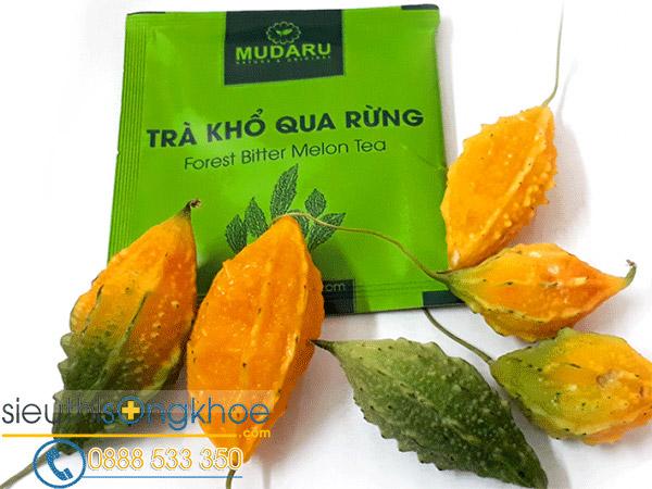 trà khổ qua rừng Mudaru mua ở đâu