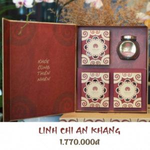 Hộp quà linh chi an khang - Linh chi trường sinh