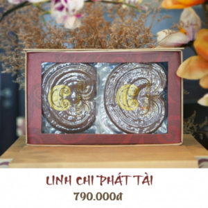 Hộp quà linh chi Phát Tài - Linh chi trường sinh