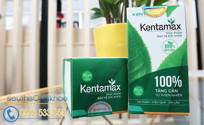 Thành phần thuốc tăng cân Kentamax có thảo dược táo nhân
