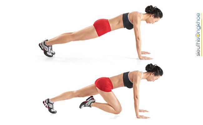 Hình minh họa bài tập thể dục tăng cân cho nữ tại nhà 3