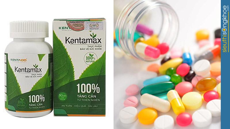 thuốc tăng cân Kentamax có uống với thuốc tây được không