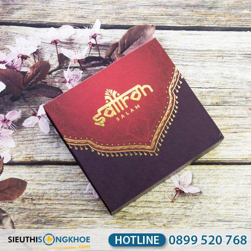 Set quà tặng (5gr) Nhuỵ Hoa Nghệ Tây Saffron Sang Trọng