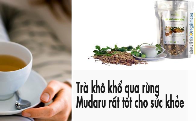 Uống trà khô khổ qua rừng Mudaru bao lâu hiệu quả?