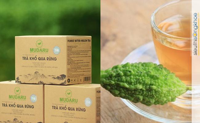 Uống trà túi lọc khổ qua rừng Mudaru bao lâu hiệu quả?