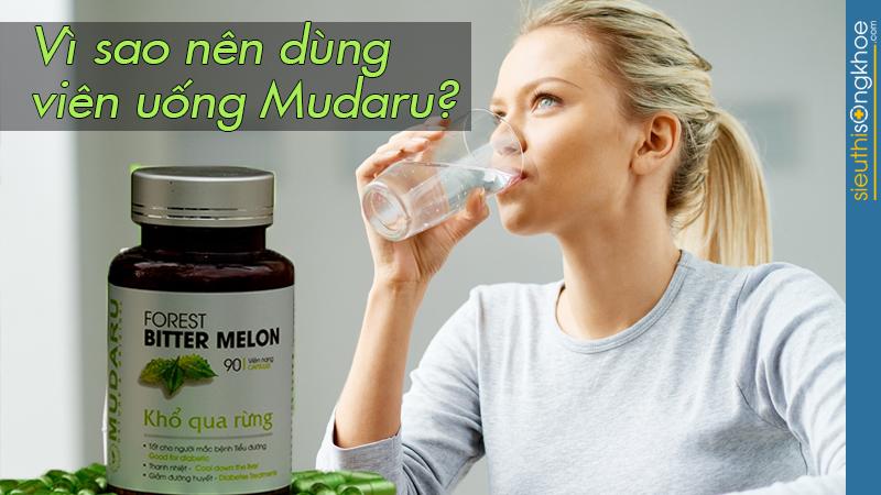 viên uống khổ qua rừng Mudaru