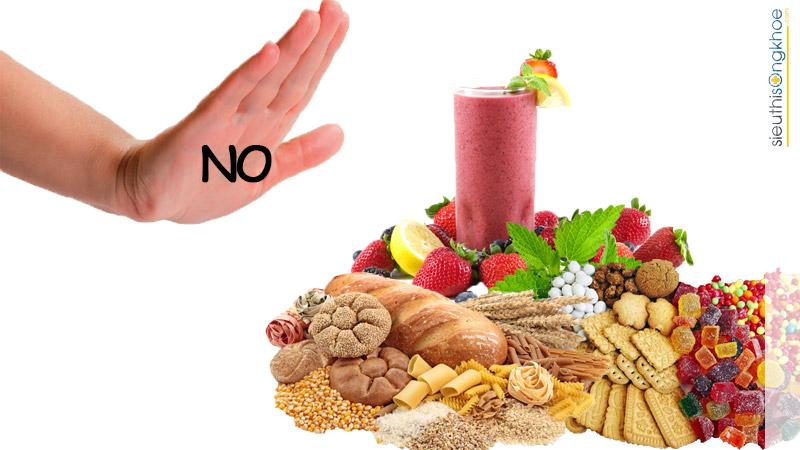 thực phẩm người bệnh tiểu đường nên tránh để ổn định đường huyết