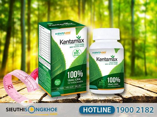 đánh giá thảo dược tăng cân kentamax
