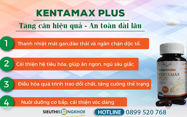 công dụng kentamax plus