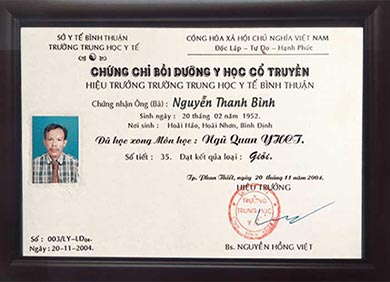 luong y Thanh Bình
