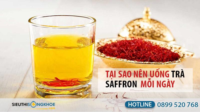 trà saffron