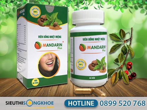 thảo dược chữa nhiệt miệng mandarin plus