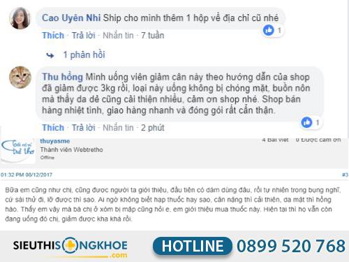 phan hoi cua khach hang fuji diet