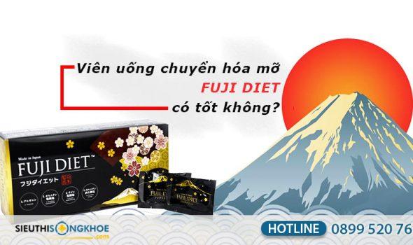 viên uống chuyển hóa mỡ fuji diet có tốt không