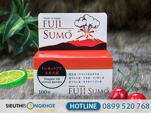 liệu trình sử dụng viên uống hỗ trợ sinh lý nam fuji sumo