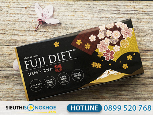 liệu trình sử dụng viên uống chuyển hóa mỡ fuji diet