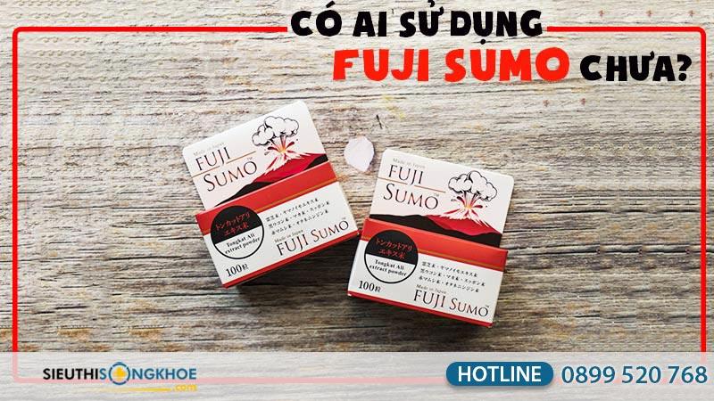 có ai sử dụng viên uống fuji sumo chưa