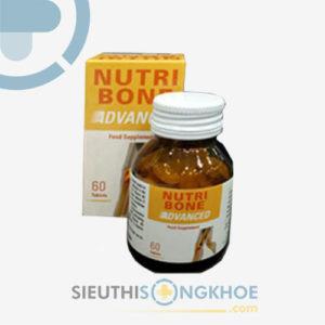 Viên uống Nutri Bone Advanced – Hỗ trợ điều trị loãng xương