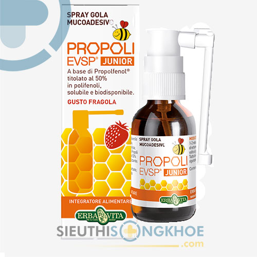 Spray Gola Propoli.evsp – Giải Quyết Các Bệnh Về Tai Mũi Họng