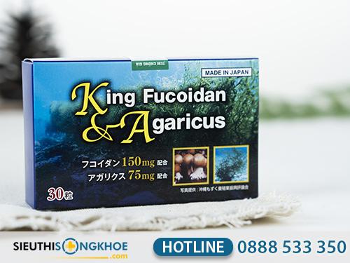 king fucoidan & agaricus 2