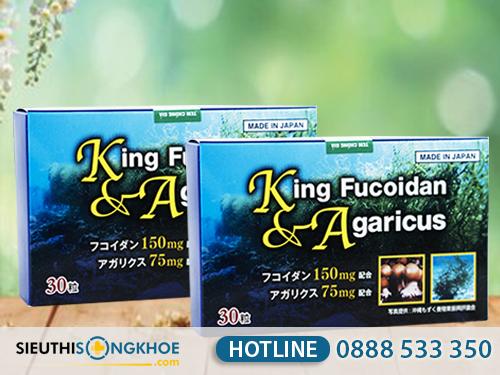 king fucoidan & agaricus 4