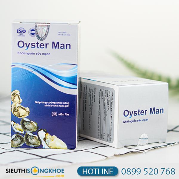 Oyster Man - Viên Uống Hỗ Trợ Cải Thiện Sinh Lý Cho Phái Mạnh