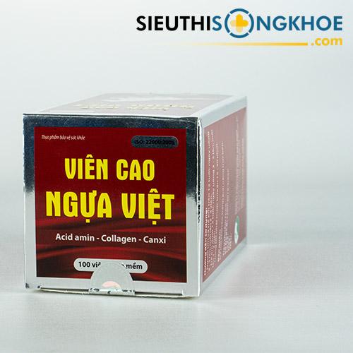 Viên Cao Ngựa Việt - Viên Uống Bổ Trợ Sức Khỏe