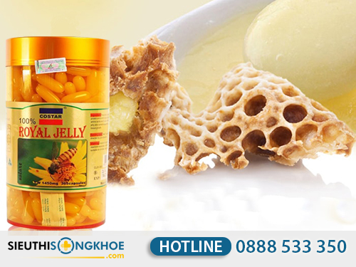 Sua ong chua costar royal jelly 1450mg 3