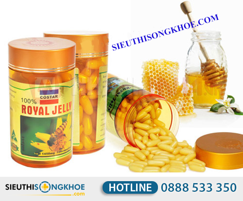 Sua ong chua costar royal jelly 1450mg 4