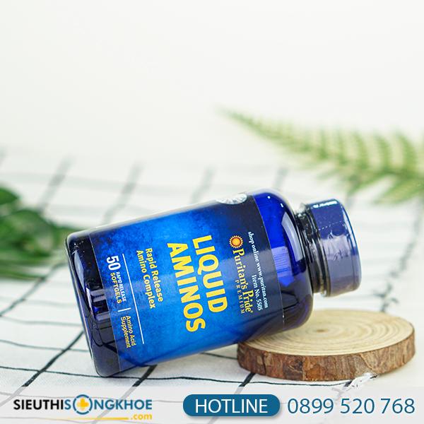 Liquid Aminos- Viên uống hỗ trợ tăng cường sức khỏe