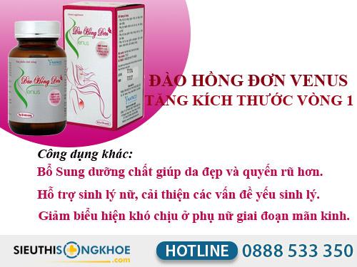 chuong tỉnh khuyen mai cua san pham dao hong don venus