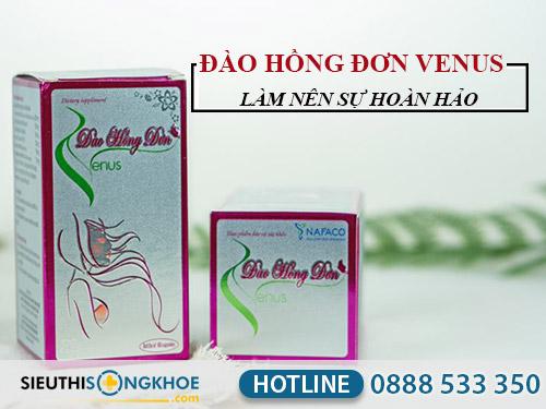 chuong trinh khuyen mai cua dao hong don venus