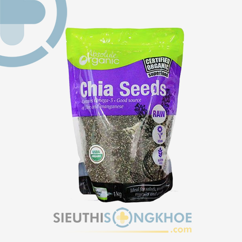 hat chia uc Absolute Organic
