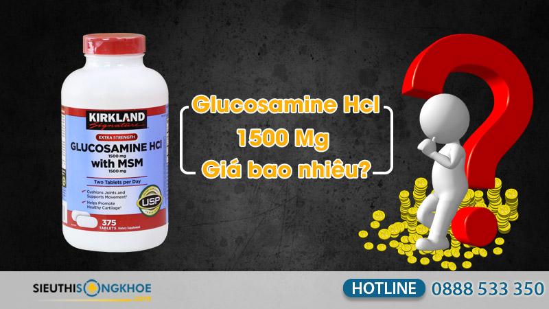 kirkland glucosamine hcl 1500 mg giá bao nhiêu