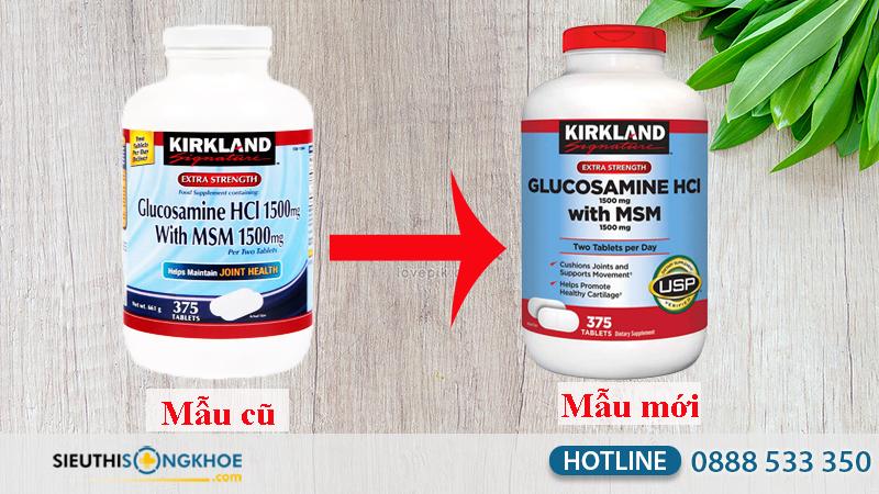 kirkland glucosamine hcl 1500mg 11