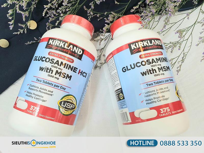 kirkland glucosamine hcl 1500mg 2