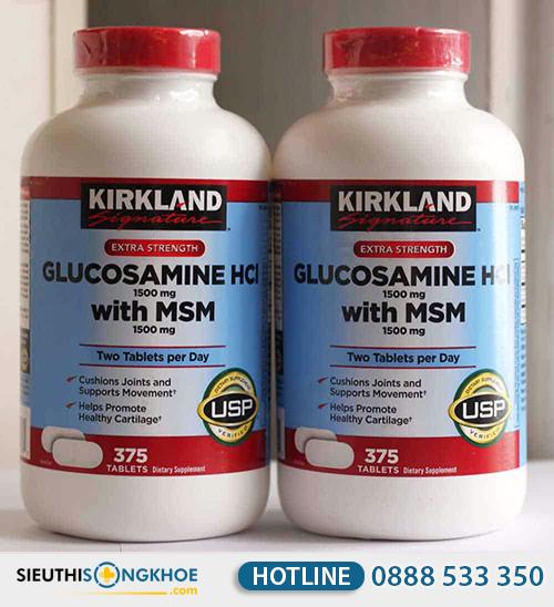 kirkland glucosamine hcl 1500mg 6