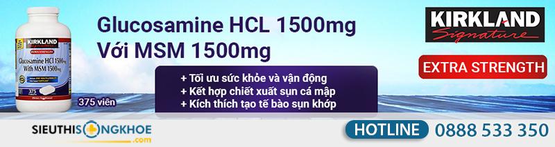 kirkland glucosamine hcl 1500mg 8