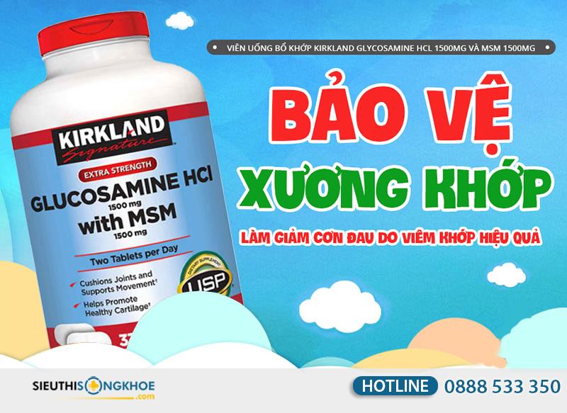 kirkland glucosamine hcl 1500mg 9
