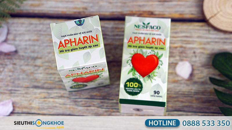 viên uống huyết áp apharin