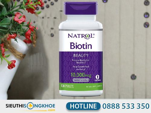 viên uống mọc tóc biotin 10000mcg mua ở đâu