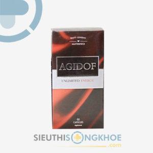 Agidof – Viên uống hỗ trợ tăng cường sinh lý nam