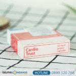 Huyết áp Cardio Trust - Giải pháp hỗ trợ phòng ngừa bệnh tim