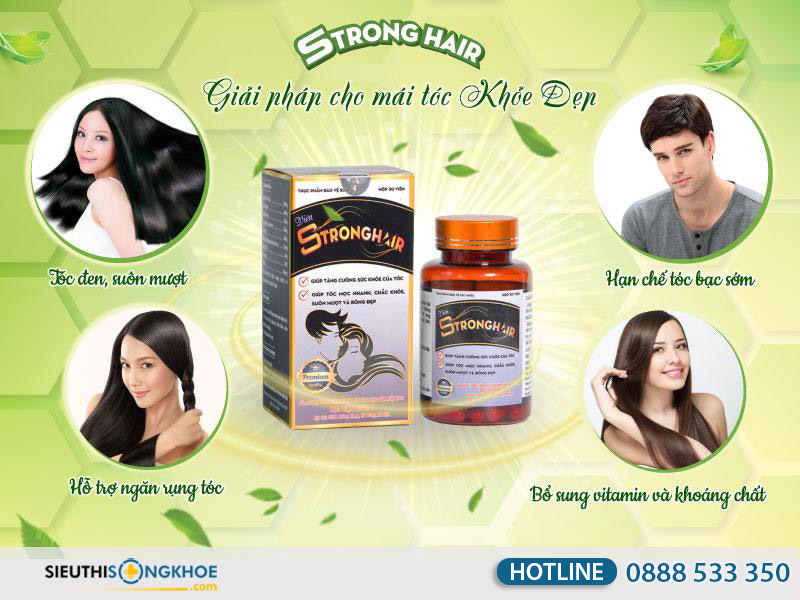 công dụng của stronghair hvqy