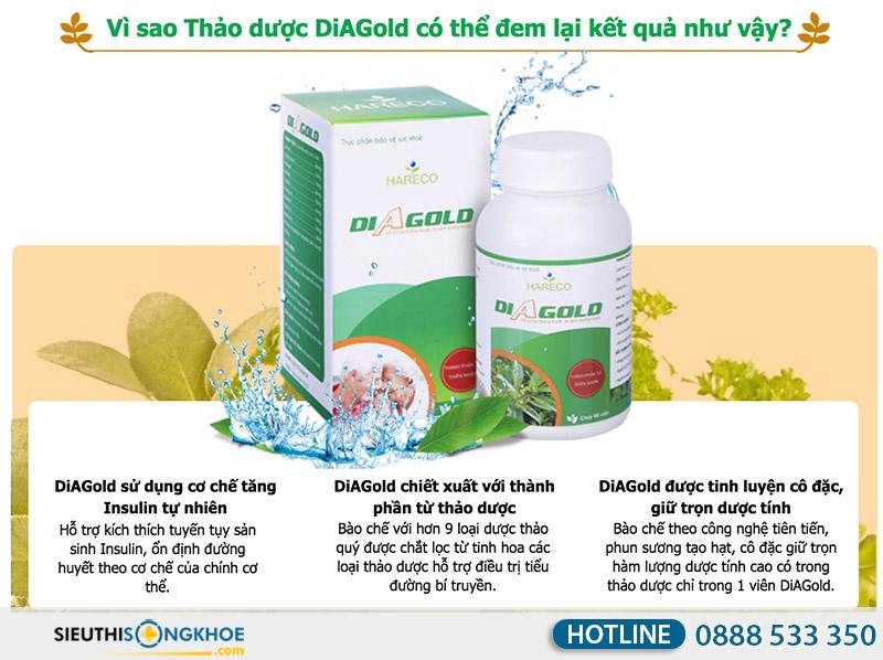 tại sao nên dùng tiểu đường diagold