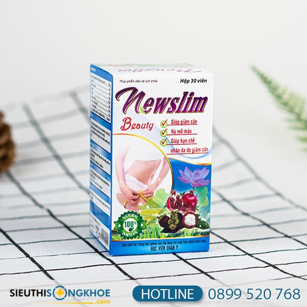 Viên uống Newslim Beauty HVQY - Hỗ trợ giảm cân hiệu quả