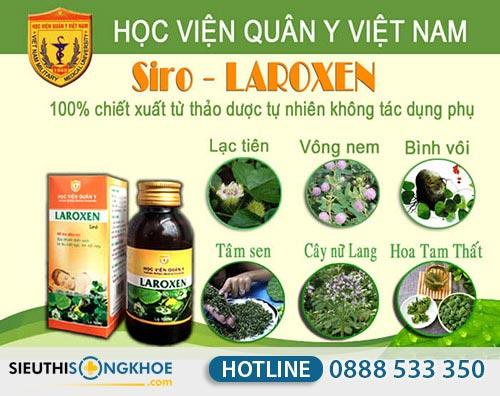 siro thảo dược laroxen hvqy có tốt không