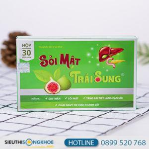 sỏi mật trái sung 1